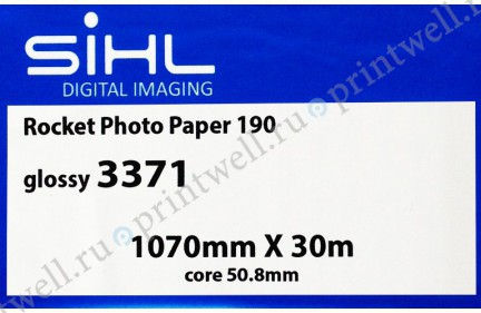Фотобумага Sihl Rocket Photo Paper 190 Glossy