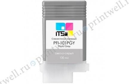 Картридж ITS PFI-101PGY 0893B001