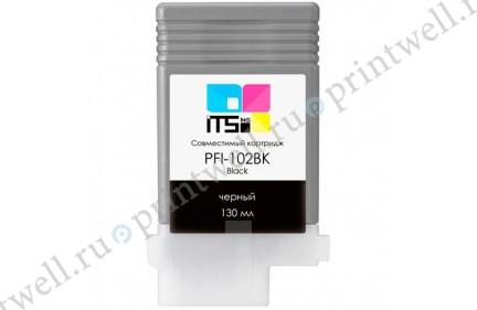 Картридж ITS PFI-102BK