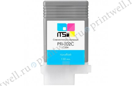 Картридж ITS PFI-102C