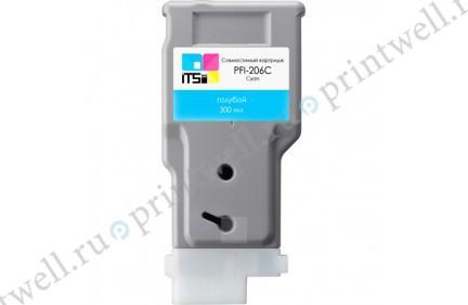 Картридж ITS PFI-206C 5304B001