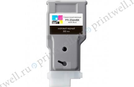 Картридж ITS PFI-206MBK 5302B001