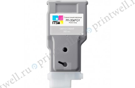 Картридж ITS PFI-206PGY 5313B001