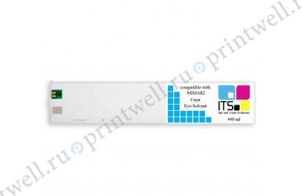 Картридж ITS Eco-Solvent 440мл Cyan