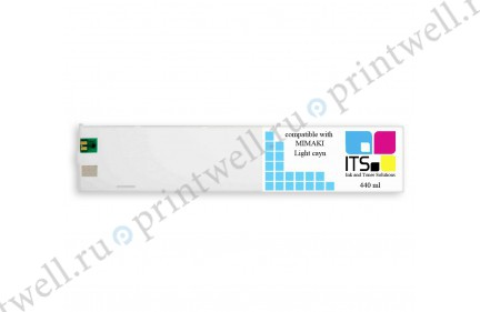 Картридж ITS Eco-Solvent 440мл Light Cyan