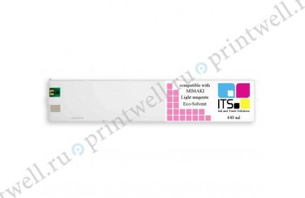 Картридж ITS Eco-Solvent 440мл Light Magenta