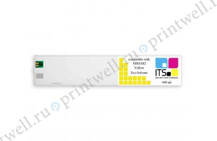Картридж ITS Eco-Solvent 440мл Yellow
